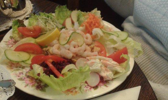 Prawn Salad Picture Of Greys Tearooms Totnes Tripadvisor