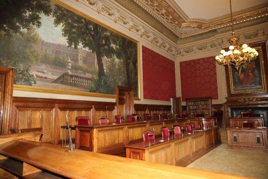 París, Francia: PARIS. Palais Royal. Le Conseil d'Etat. Salle du contentieux.