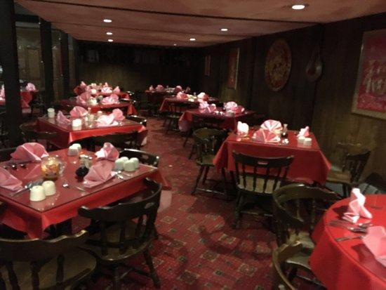 Webster, NY: Jade Palace - back side of main dining room