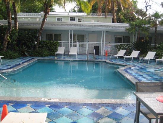 Orchid Key Inn : Poolside.