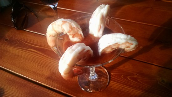 Brewer, ME: Shrimp cocktail.