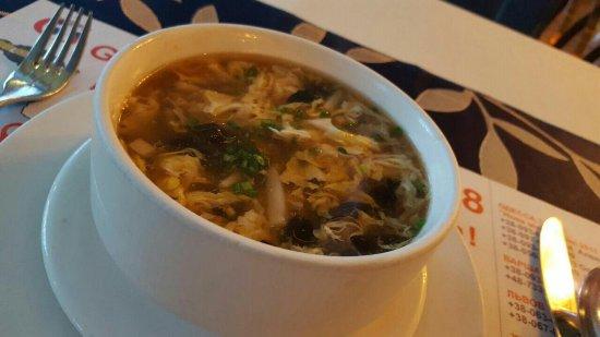 Кисла острый суп 5