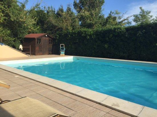 Montescudaio, อิตาลี: Der Pool