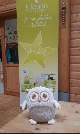 """Hoechenschwand, Duitsland: Auch unserem Maskottchen der """"Eule Hedwig"""" hat es sichtlich Spass gemacht!"""