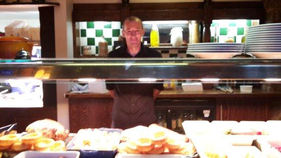 Edale, UK: Funny waiter
