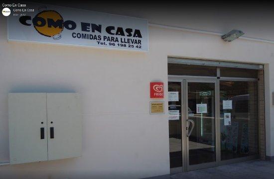 Chiva, Hiszpania: Comidas caseras para llevar