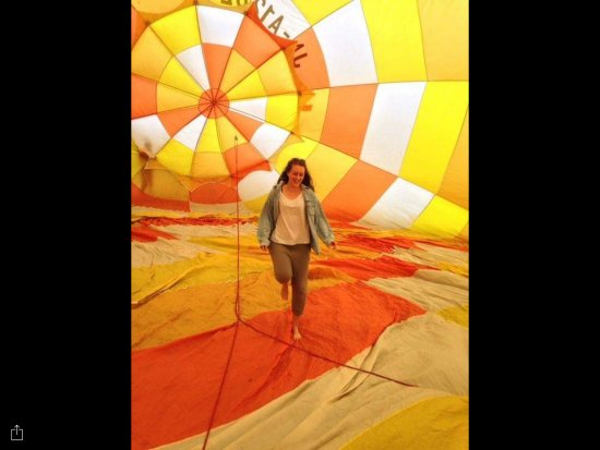 Русутсу-мура, Япония: Hot air ballooning with Pension Clyesdale