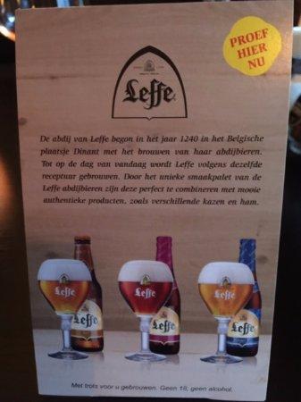 Spijkenisse, Nederländerna: Bierkaart