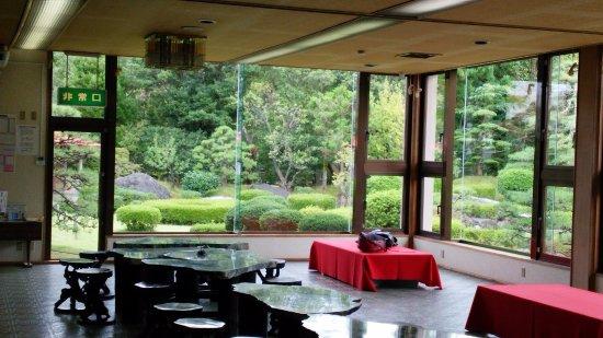 Itoigawa, Ιαπωνία: 玉翠園を眺める部屋
