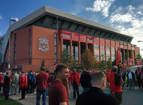 how to go to anfield stadium