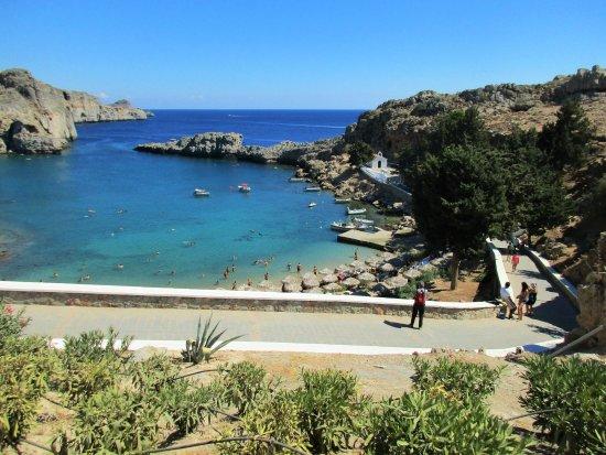 st. paul - Bild från Agios Pavlos Beach (Saint Paul ...