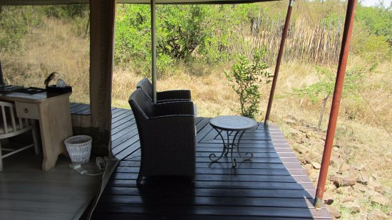 Kicheche Valley Camp: Die Veranda