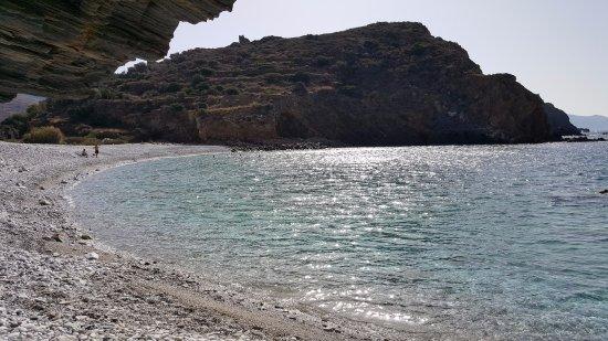 Oitylo, Grekland: Almyros beach, 5 minutes by car from hotel...