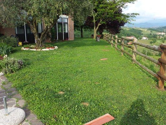 Dolegna del Collio, Italien: Zona verde a destra del locale