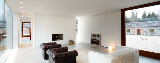 Ballymahon, Irlanda: Gold House living area