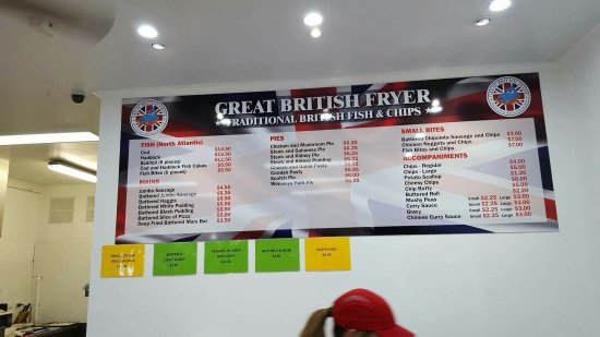 Helensvale, Αυστραλία: Only true brits understand and appreciate the brilliance of this chippy