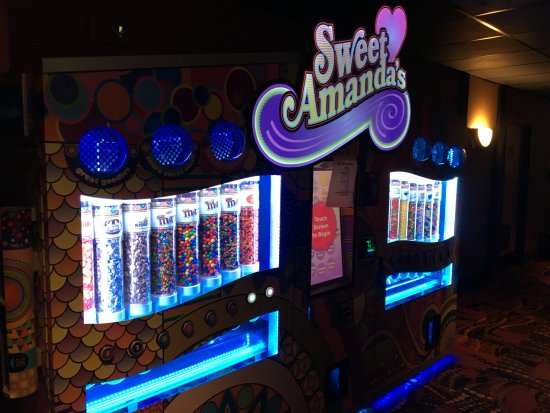 Regal Eastview Mall 13 : Regal East - sweets machine