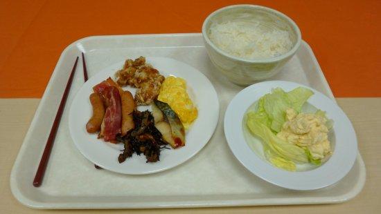 Higashiosaka, Japan: breakfast