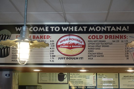 Three Forks, MT: Sure looks like Wheat Montana...