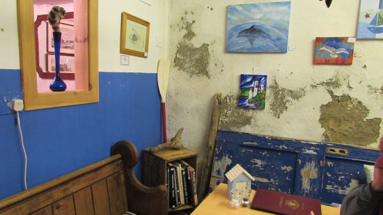 Portsoy, UK: This room had a sea theme