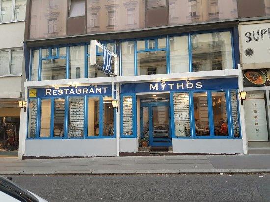 Restaurant Mythos Fisch und Lamm: Aussenansicht