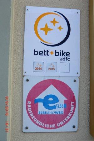 Wittenberg, Deutschland: Fahrradfahrer willkommen