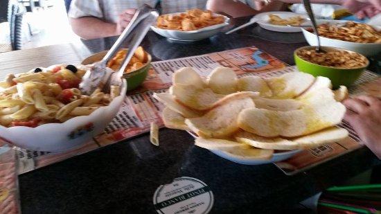 Predore, Itália: il buffet
