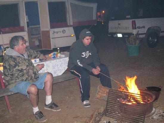 Olema, CA: Camp site