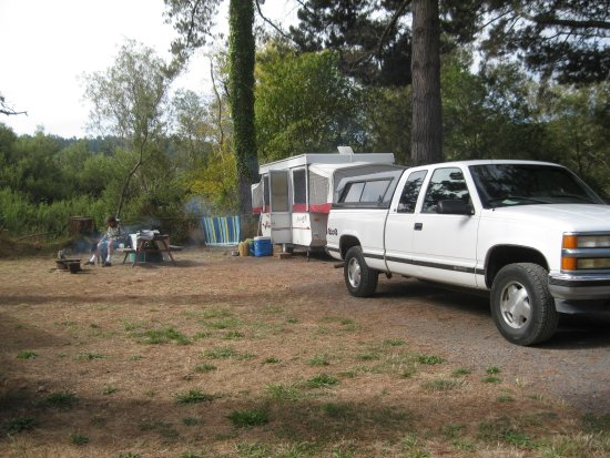 Olema, Californie : Camp site