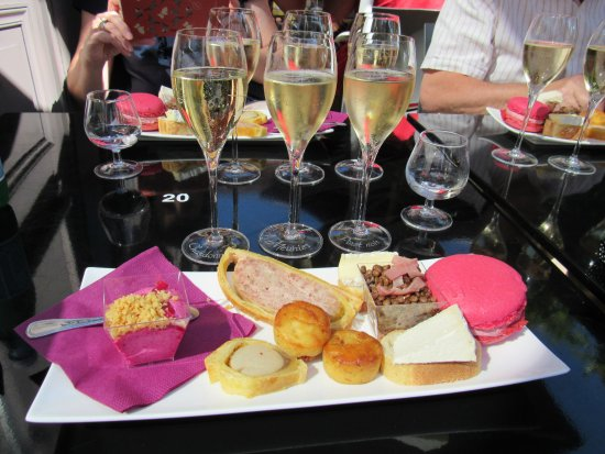 Hautvillers, Frankrijk: Assiette of Champagne-Ardenne specialities