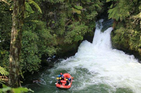 Okere Falls, نيوزيلندا: We made it!