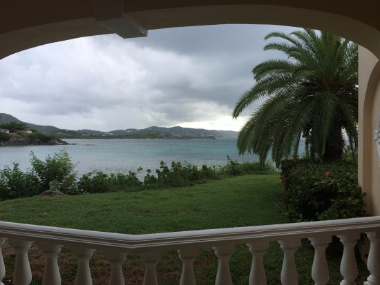 The Buccaneer -- St Croix: Another view from our room's patio.