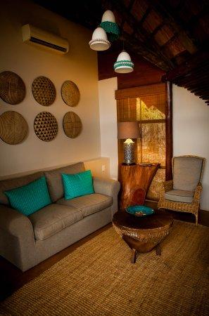 Pongola, Sudáfrica: river suite lounge