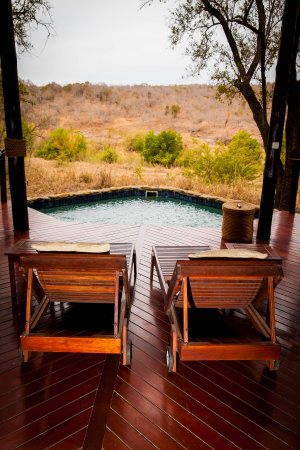 Pongola, Sudáfrica: Honeymoon suite deck