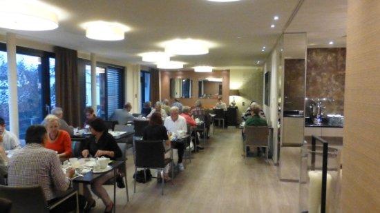 Kirchheimbolanden, Alemania: Buffet breakfast area