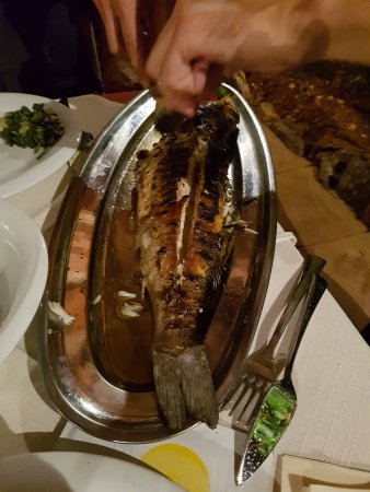 Vrboska, Kroatia: Gegrillter Fisch