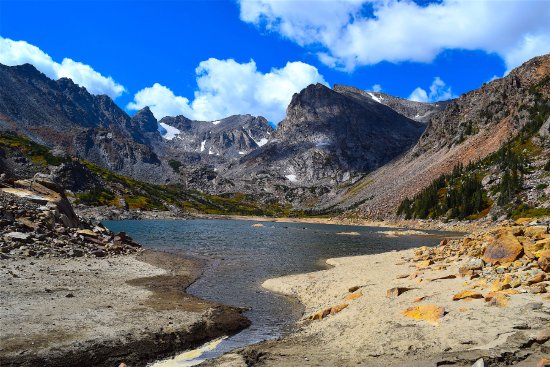 Ward, CO: Lake Isabelle late in the season