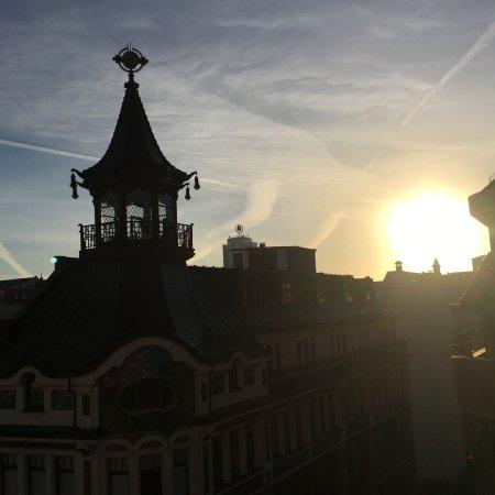 Steigenberger Grandhotel Handelshof: Room view