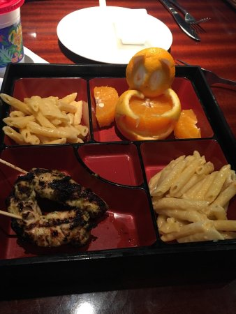 kona grill tampa kids meal satay chicken with double mac cheese