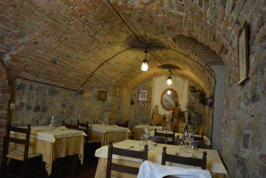 Monticchiello, Italia: Uno dei locali