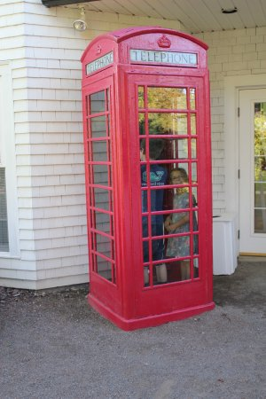 Saint Andrews, Canadá: phone booth