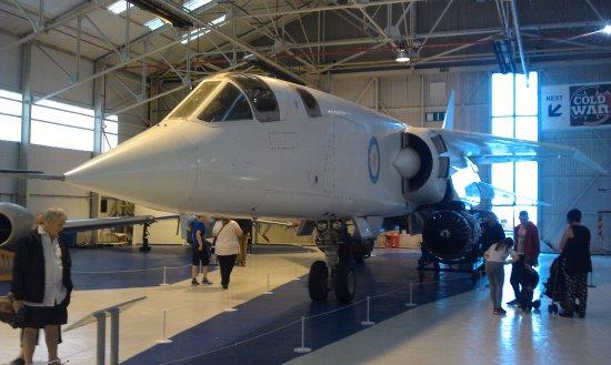 Shifnal, UK: Experimental jet aircraft hangar