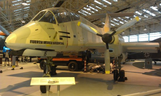 Shifnal, UK: Argentinian aircraft left abandoned on the Falklands