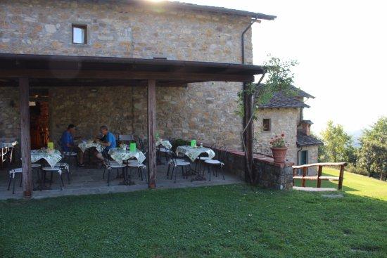 Azienda Agrituristica Costa d'Orsola : Ontbijtplaats.