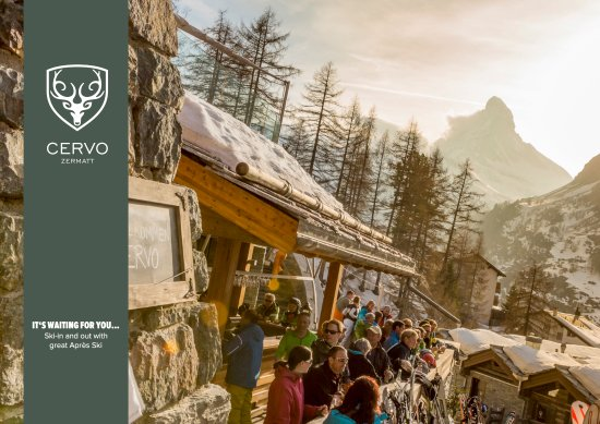 CERVO Zermatt: Ski in and ski out - Apres ski at the CERVO bar