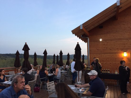 Middleburg, VA: VIP event on the terrace at Chrysalis Winery