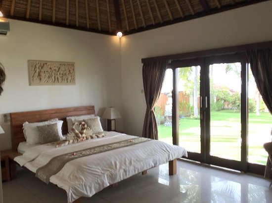 Kubu, Indonesia: Master bedroom