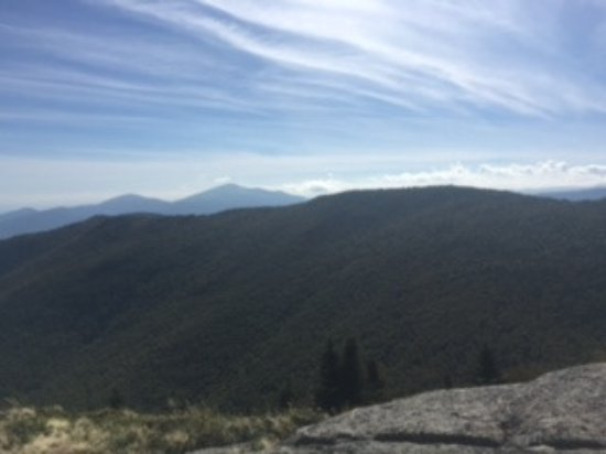 Adirondack, estado de Nueva York: Gorgeous view made the climb worth while