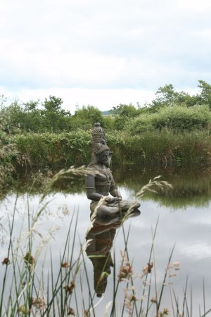 Roundwood, Irland: Could spend hours sitting by this pond