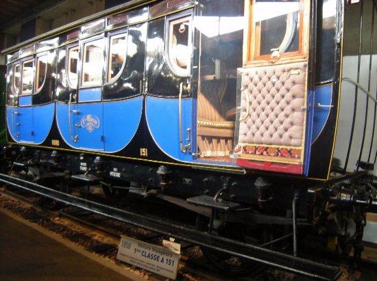 1850 voiture voyageurs 1 re classe a 151 photo de cit du train mulhouse tripadvisor. Black Bedroom Furniture Sets. Home Design Ideas